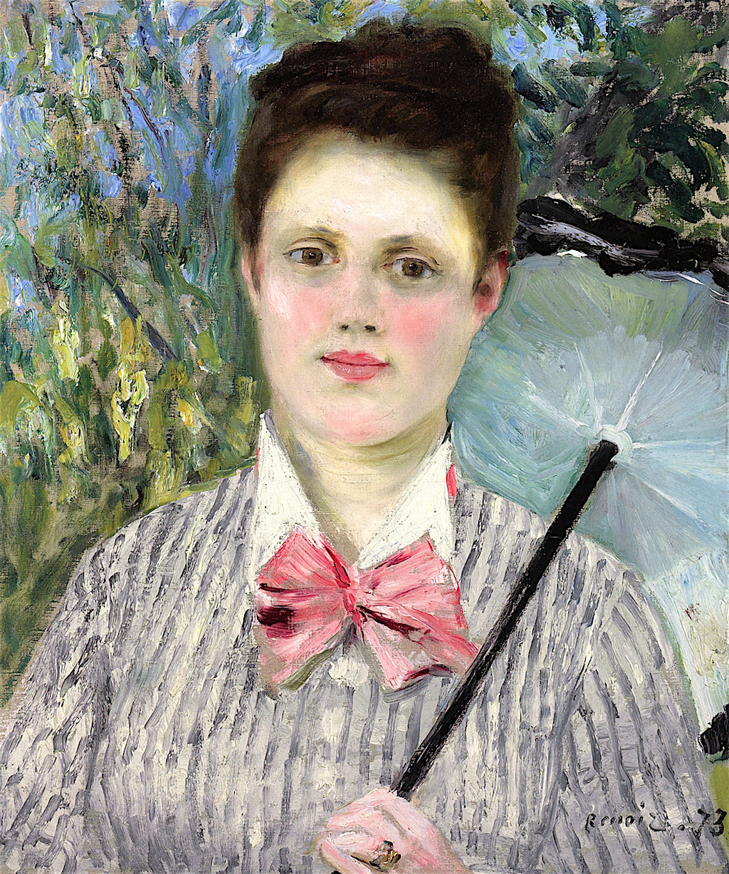 Woman with an Umbrella, 1873